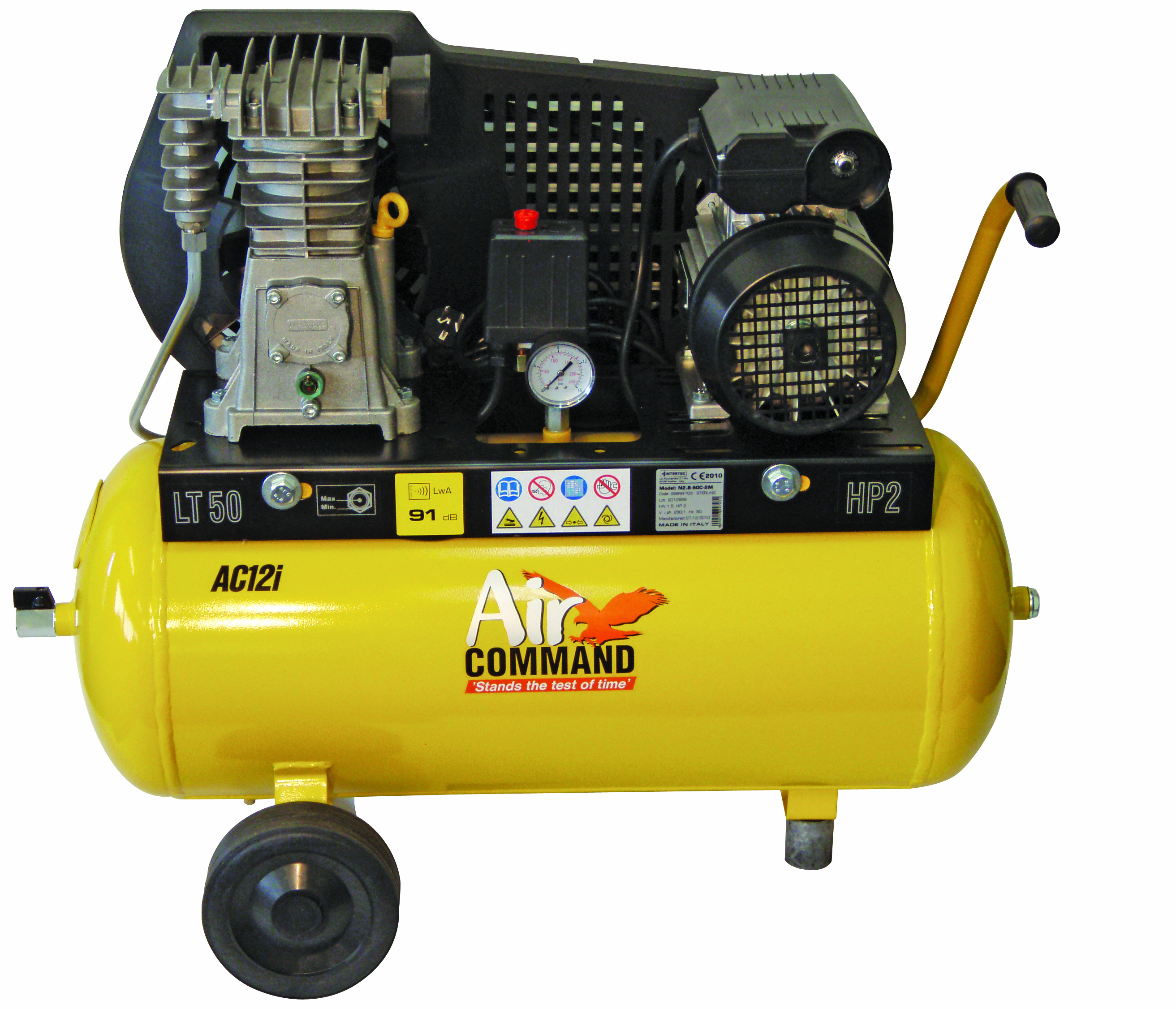 Air Command 12CFM, 2HP Compressor-50L Tank