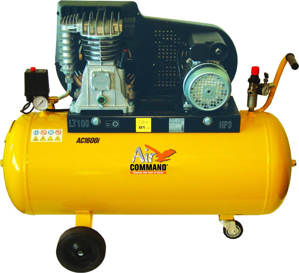 Air Command 16CFM, 3HP Compressor-100L Tank