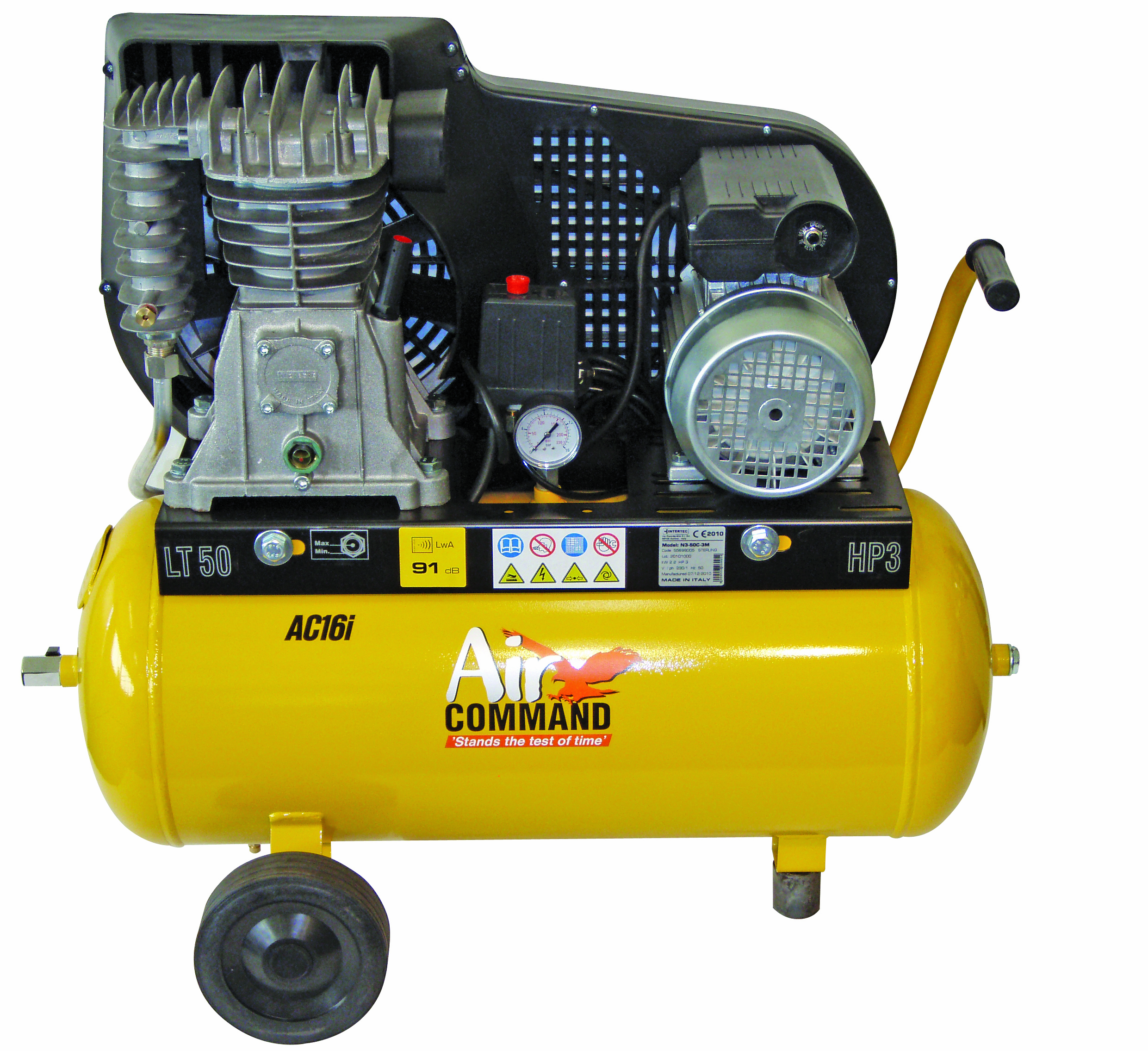 Air Command 16CFM, 3HP Compressor-50L Tank
