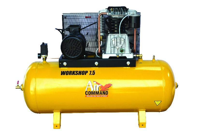 Air Command Air Compressor 40L (Twin) 5.5hp Petrol