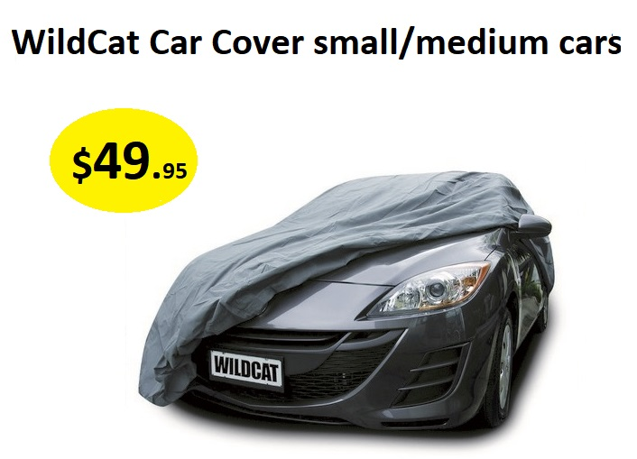 CAR COVER - WILDCAT CAR COVER  SMALL & MED