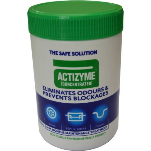 ACTIZYME DRAIN CLEANER 450ml    450gm