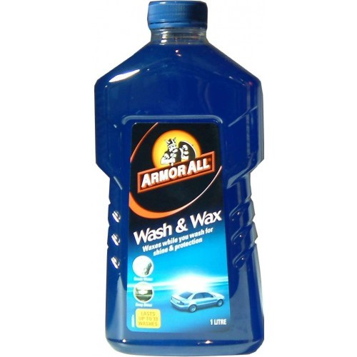 ARMOR ALL CAR WASH & WAX 1L   1 Litre
