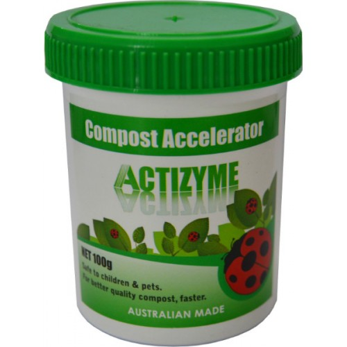 ACTIZYME COMPOST ACCELERATOR 100gm   100gm