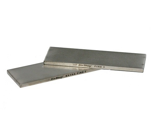6in DOUBLE SIDED DIA-SHARP BENCH STONE - EXTRA FINE/FINE   E/F Double Side