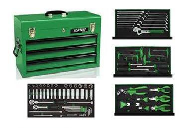 TOOL BOX - TopTul 82pc tool chest