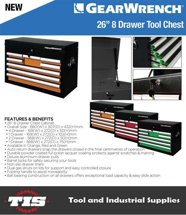 GearWrench tool box  3 colours available