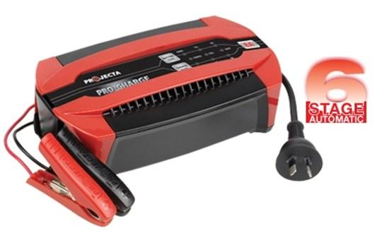 Projecta Automatic 12V 8A 6 Stage Battery Charger