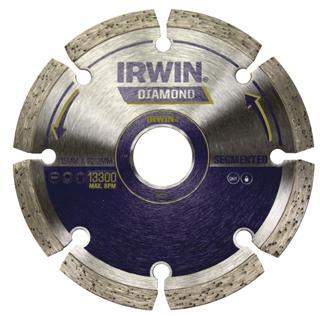 IRWIN  Dry Segmented Diamond Cutting Wheel