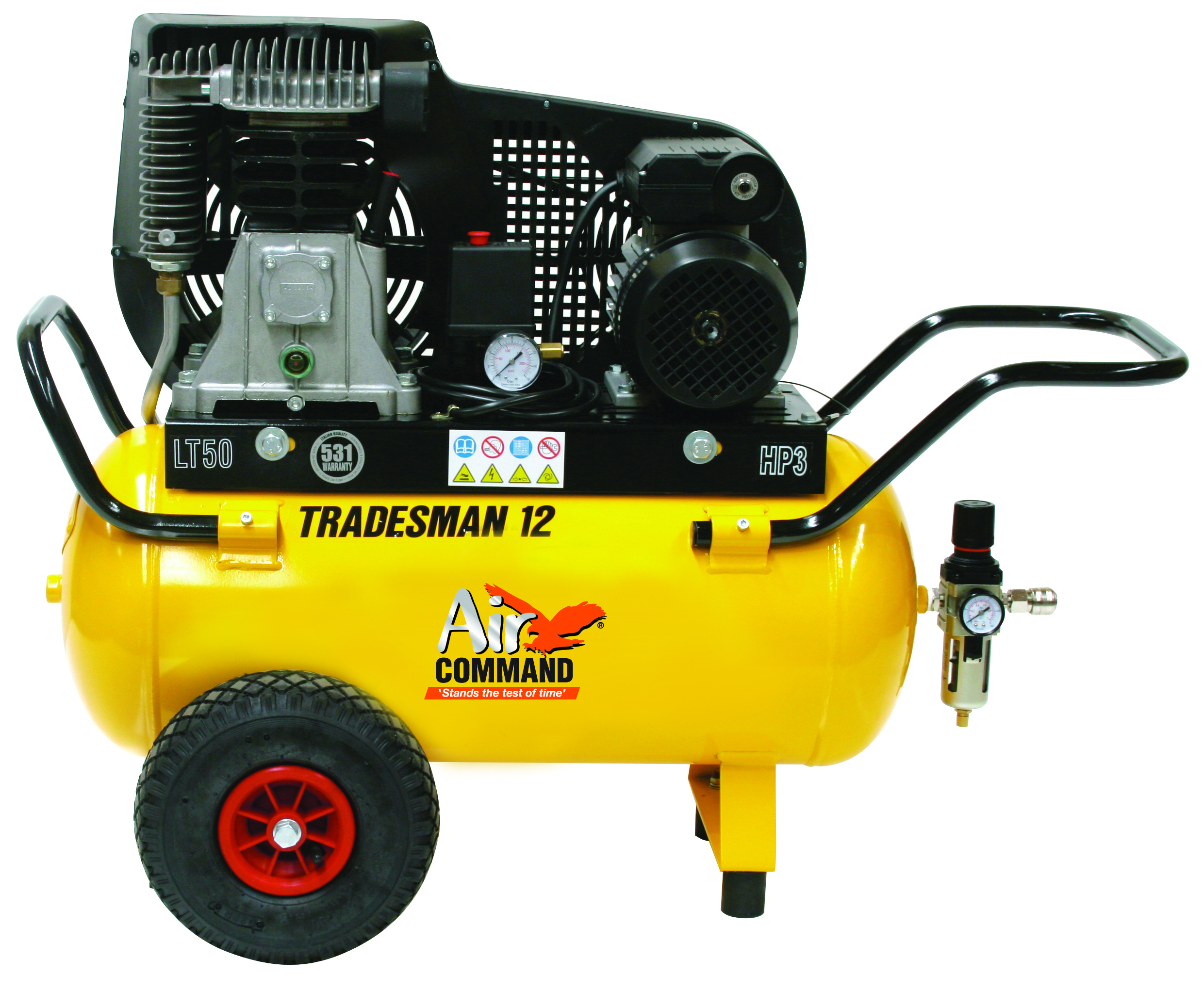 Air Command TRADESMAN 12, 12CFM. 2HP Compressor-50L Tank