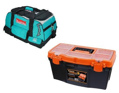 Portable Tool Boxes and Tool Bags