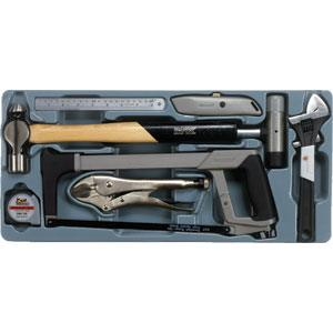 TENG 9PC GENERAL TOOL KIT WITH PS TRAY