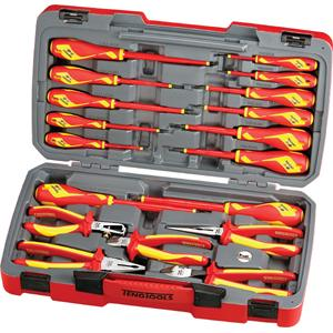 teng 18pc insulated plier and screwdriver set. Black Bedroom Furniture Sets. Home Design Ideas