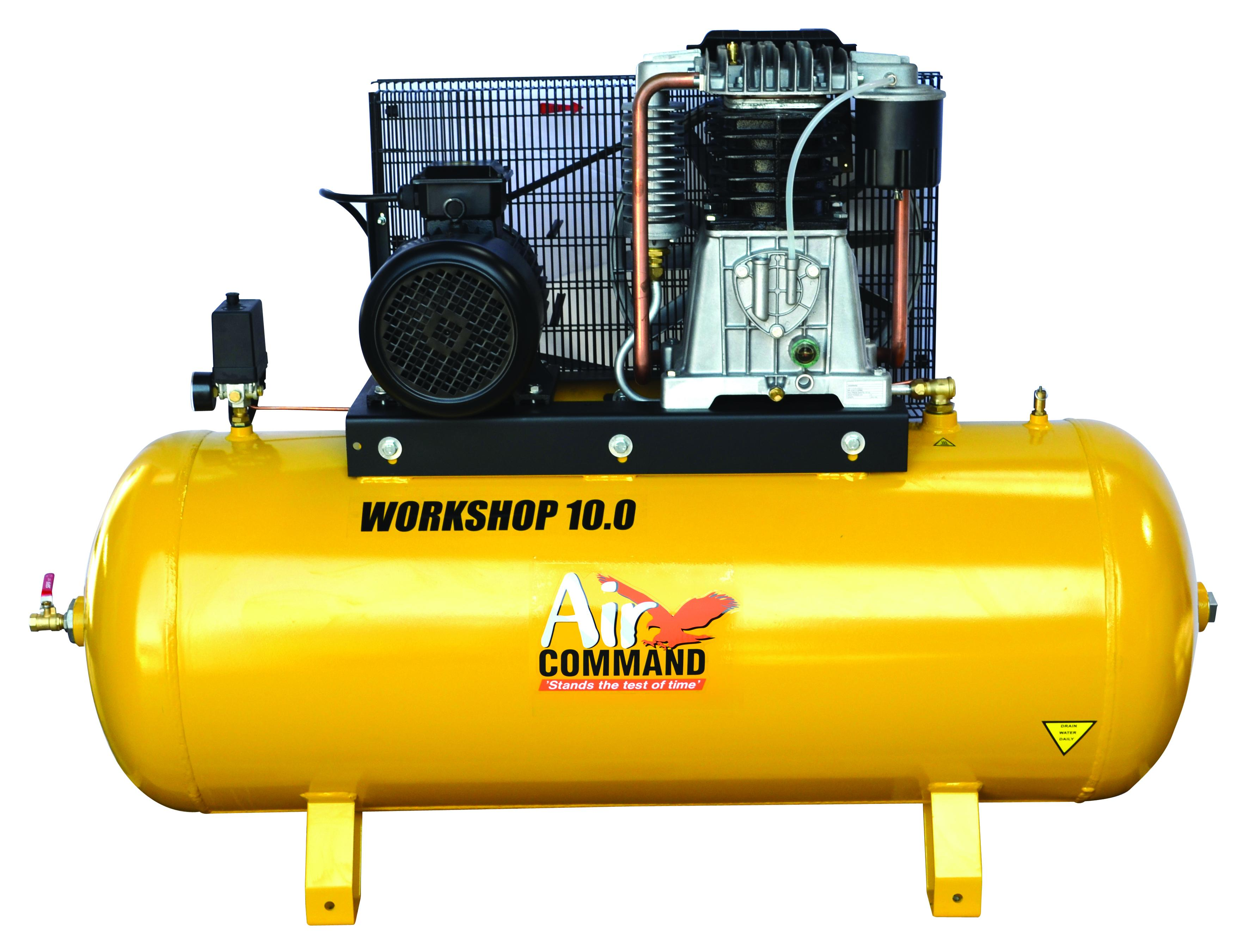 Air Command WORKSHOP 10HP Compressor-270L Tank