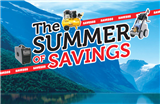 The Summer of Savings!