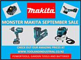Monster Makita September 2018 Sale